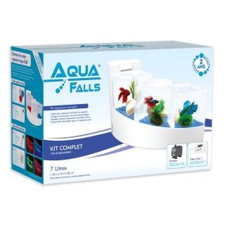 Aquarium Aqua Falls® - Kit complet - Blanc
