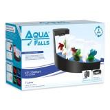 Aquarium Aqua Falls - Kit complet - Noir