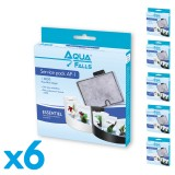 Filtre AF-1 Service Pack - Multi actions pour aquarium Aqua Falls® (lot de 6)