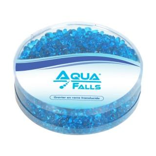 Graviers translucides coloris bleu 350 gr - Aqua Falls®